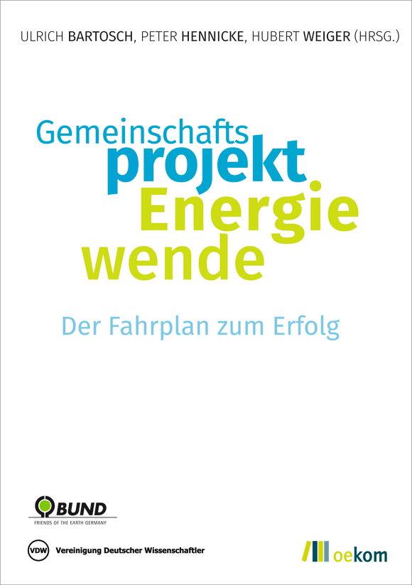Cover: Gemeinschaftsprojekt Energiewende