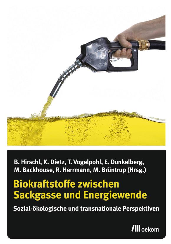 Cover: Biokraftstoffe zwischen Sackgasse und Energiewende