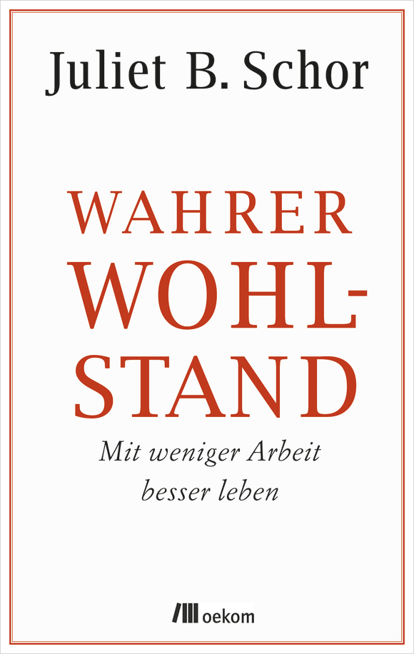 Cover: Wahrer Wohlstand