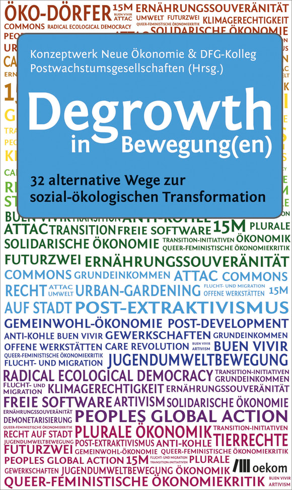 Cover: Degrowth in Bewegung(en)