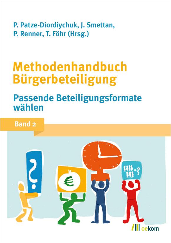 Cover: Methodenhandbuch Bürgerbeteiligung