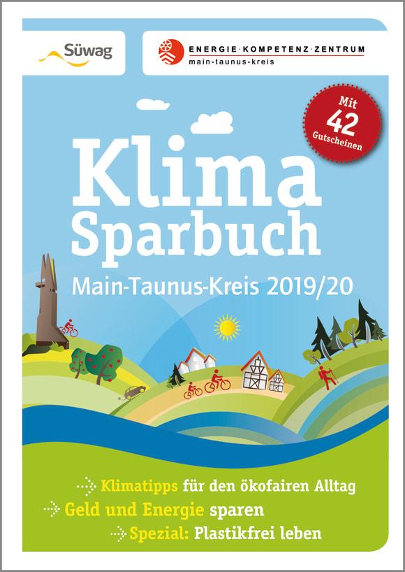 Cover: Klimasparbuch Main-Taunus-Kreis 2019/20