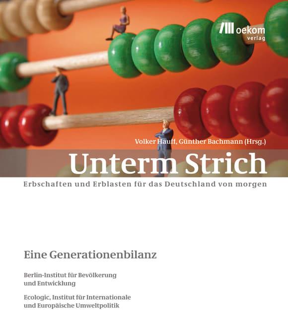Cover: Unterm Strich