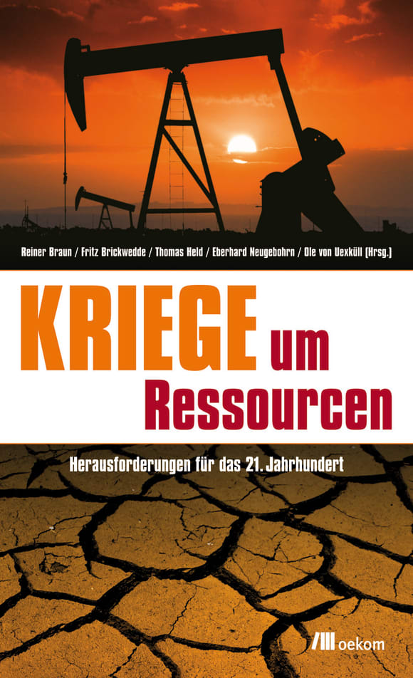 Cover: Kriege um Ressourcen
