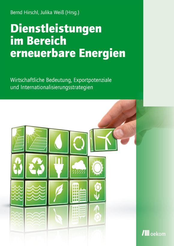 Cover: Dienstleistungen im Bereich erneuerbare Energien