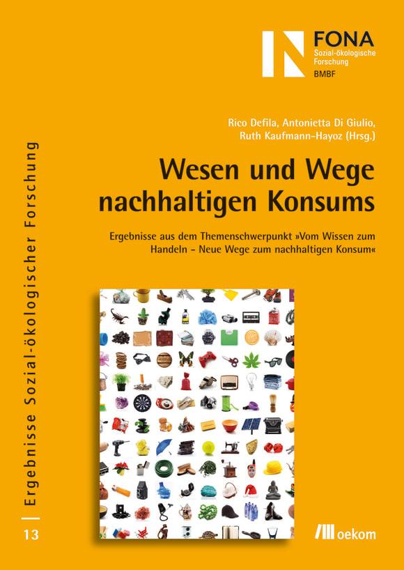 Cover: Wesen und Wege nachhaltigen Konsums