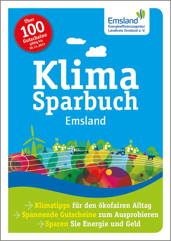Cover: Klimasparbuch Emsland