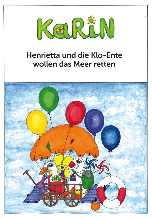 Cover: Henrietta und die Klo-Ente wollen das Meer retten