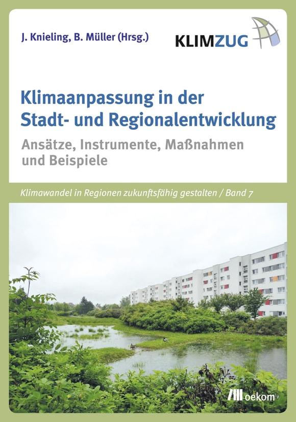 Cover: Klimaanpassung in der Stadt- und Regionalentwicklung
