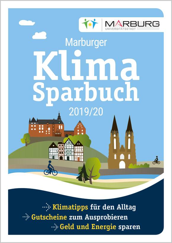 Cover: Marburger Klimasparbuch 2019/20