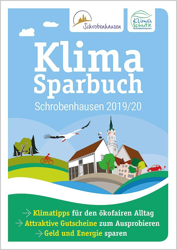 Cover: Klimasparbuch Schrobenhausen 2019/20