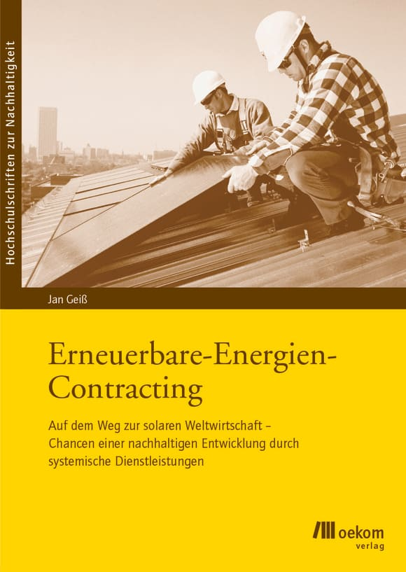 Cover: Erneuerbare Energien Contracting
