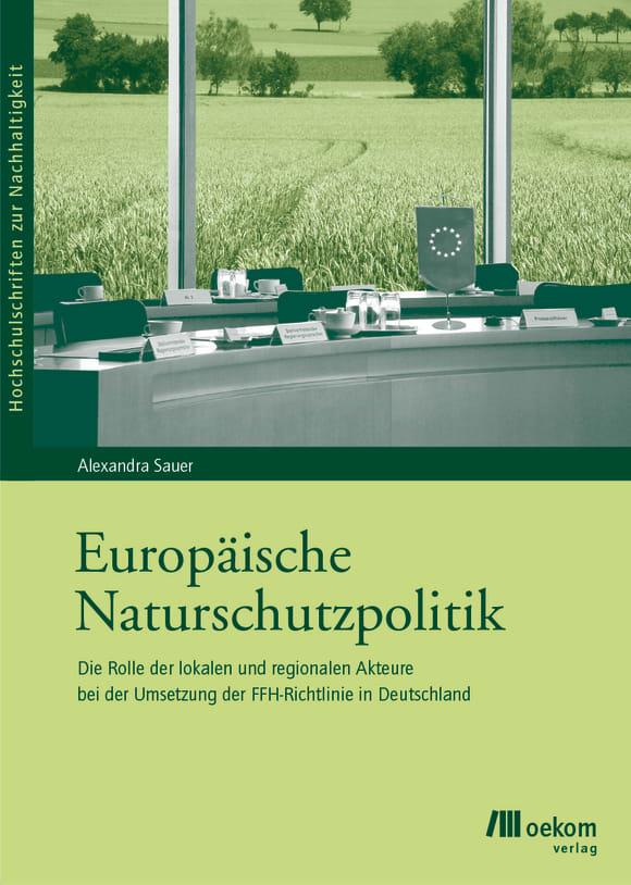 Cover: Europäische Naturschutzpolitik