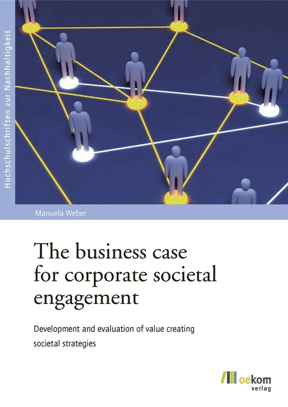 Cover: The business case for corporate societal engagement