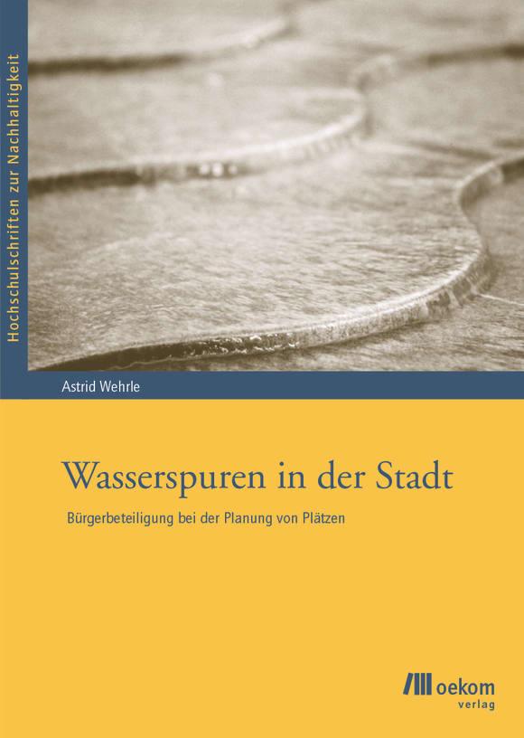 Cover: Wasserspuren in der Stadt