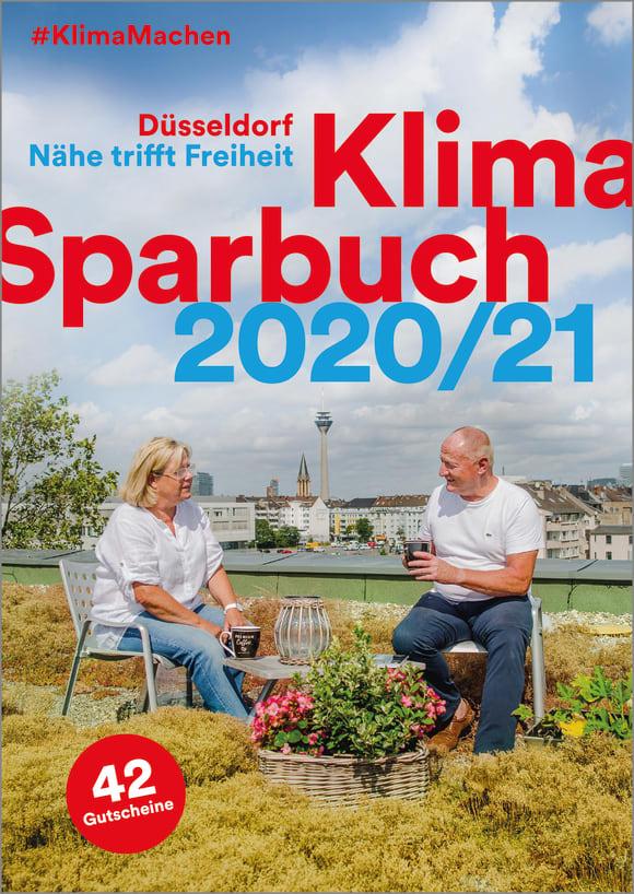 Cover: Klimasparbuch Düsseldorf 2020/21