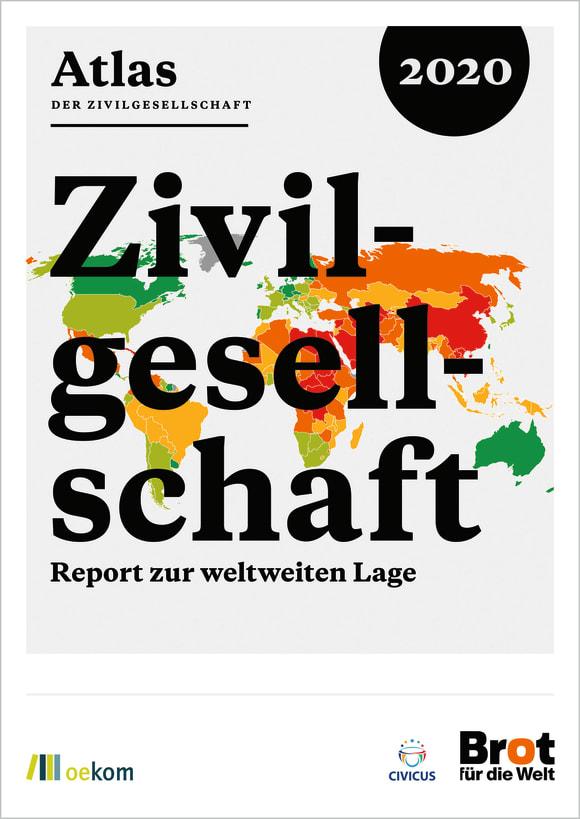 Cover: Atlas der Zivilgesellschaft 2020