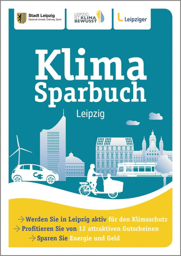 Cover: Klimasparbuch Leipzig