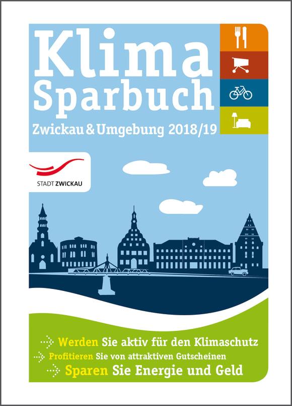 Cover: Klimasparbuch Zwickau & Umgebung 2018/19