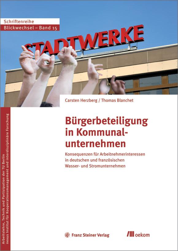 Cover: Bürgerbeteiligung in Kommunalunternehmen