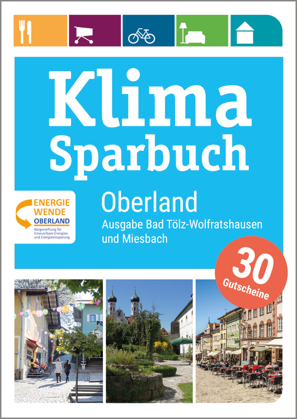 Cover: Klimasparbuch Oberland