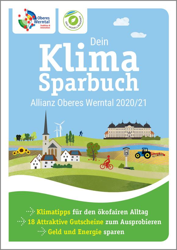 Cover: Dein Klimasparbuch Allianz Oberes Werntal 2020/21