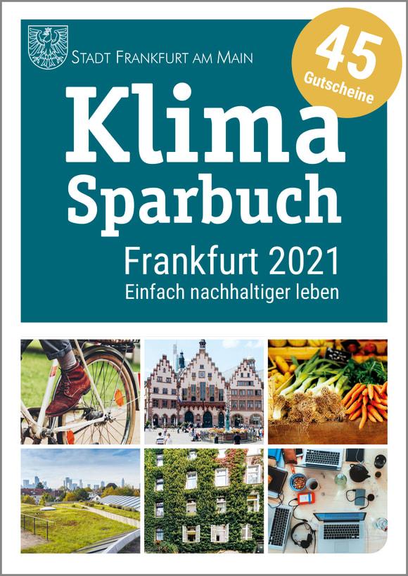 Cover: Klimasparbuch Frankfurt 2021