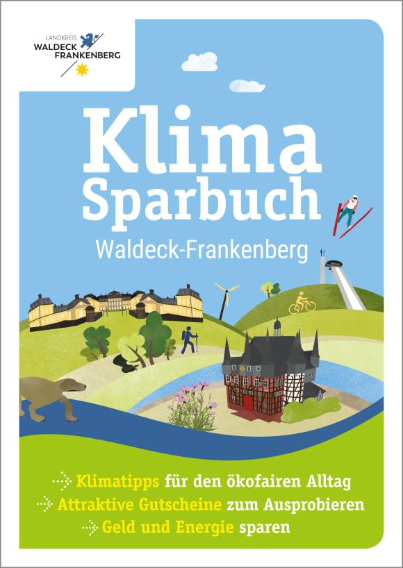 Cover: Klimasparbuch Waldeck-Frankenberg