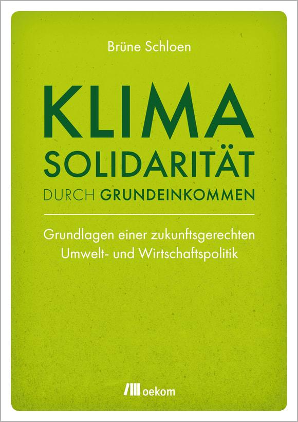 Cover: Klimasolidarität durch Grundeinkommen