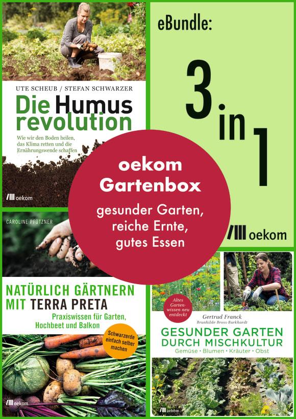 Cover: oekom-Gartenbox