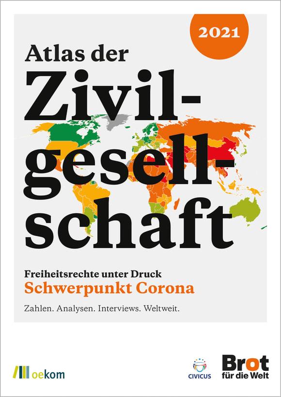 Cover: Atlas der Zivilgesellschaft: Freiheitsrechte unter Druck