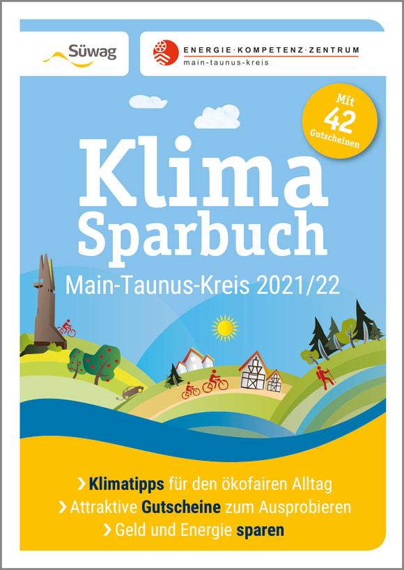 Cover: Klimasparbuch Main-Taunus-Kreis 2021/22