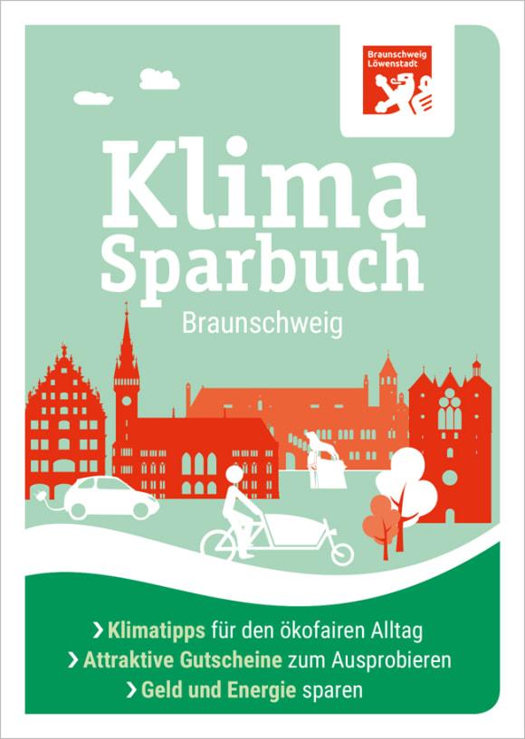 Cover: Klimasparbuch Braunschweig