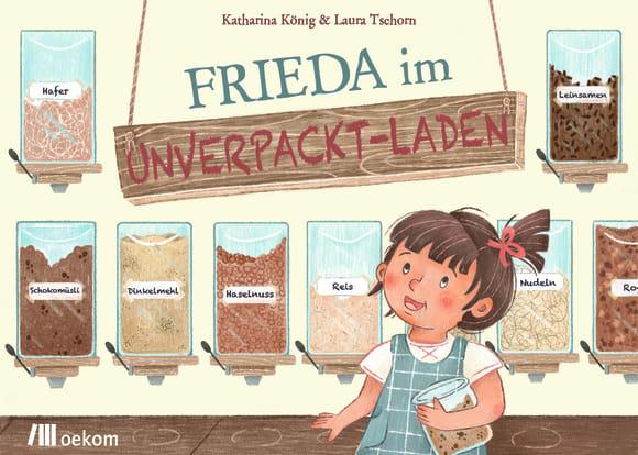 Cover: Frieda im Unverpackt-Laden