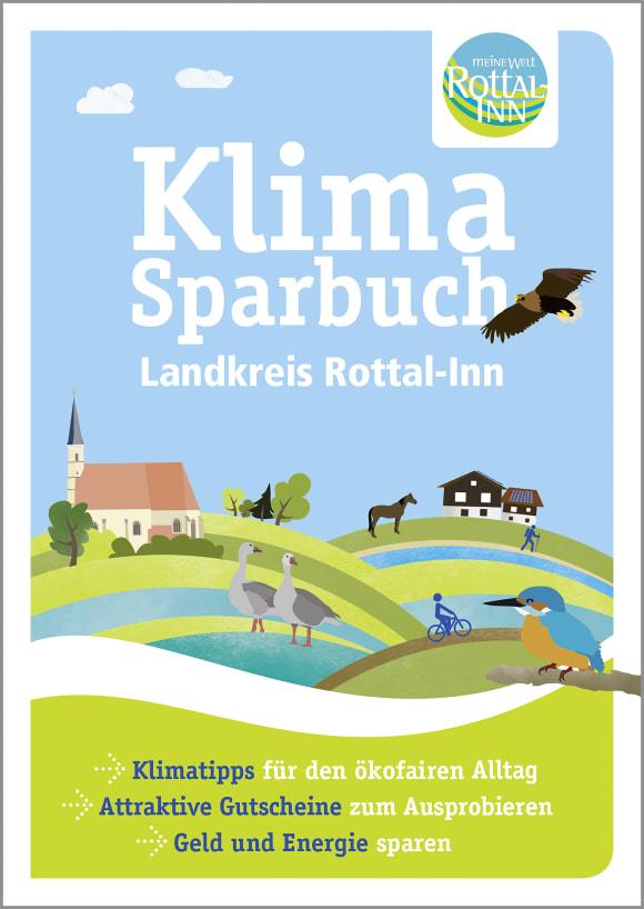 Cover: Klimasparbuch Landkreis Rottal-Inn