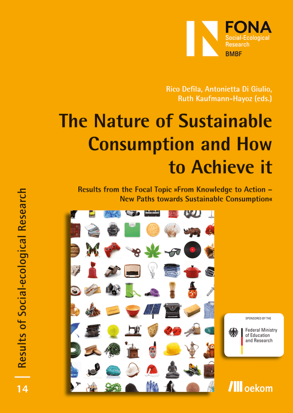 Cover: The Nature of Sustainable Consumption and How to Achieve it