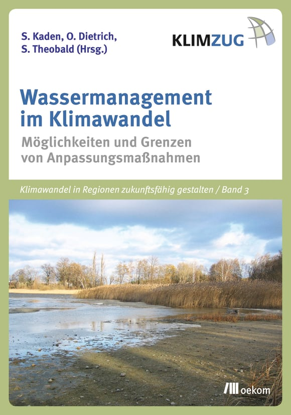 Cover: Wassermanagement im Klimawandel