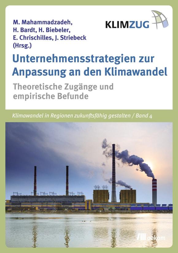 Cover: Unternehmensstrategien zur Anpassung an den Klimawandel