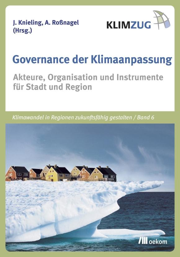 Cover: Governance der Klimaanpassung