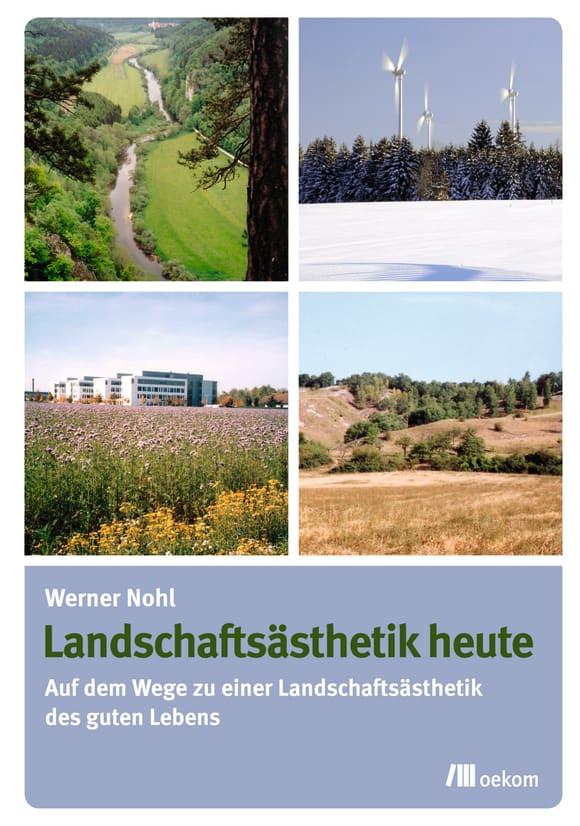 Cover: Landschaftsästhetik heute