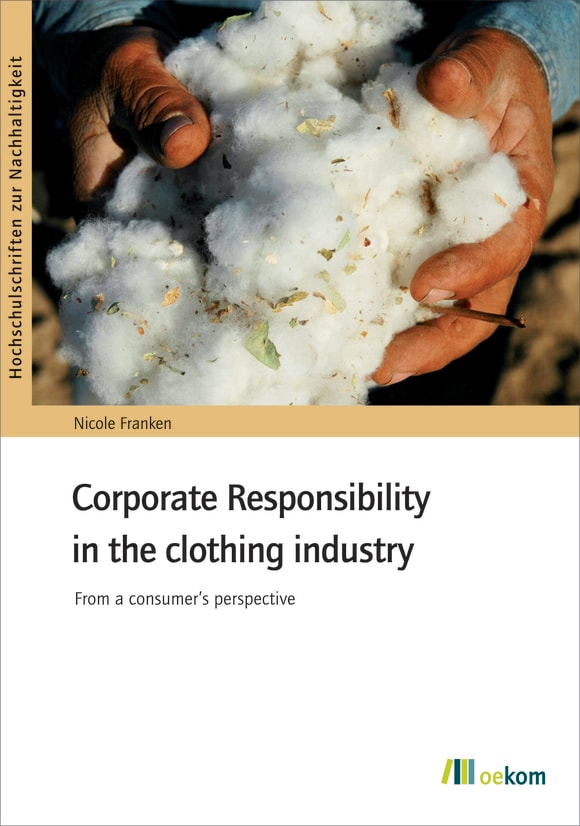 Cover: Corporate Responsibility in the clothing industry