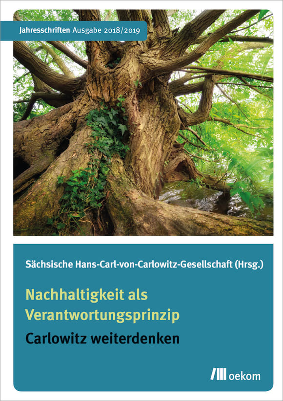 Cover: Nachhaltigkeit als Verantwortungsprinzip