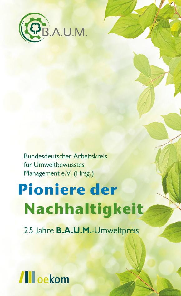 Cover: Pioniere der Nachhaltigkeit