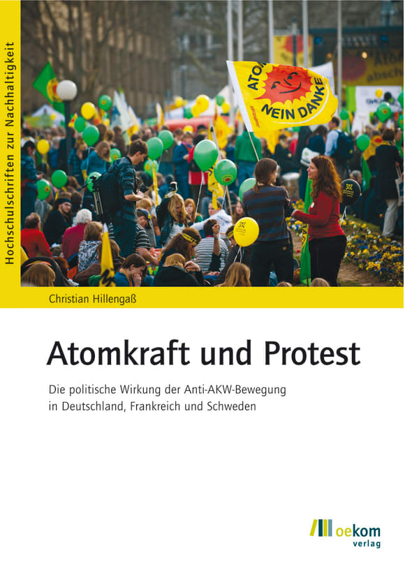 Cover: Atomkraft und Protest