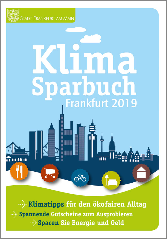 Cover: Klimasparbuch Frankfurt 2019