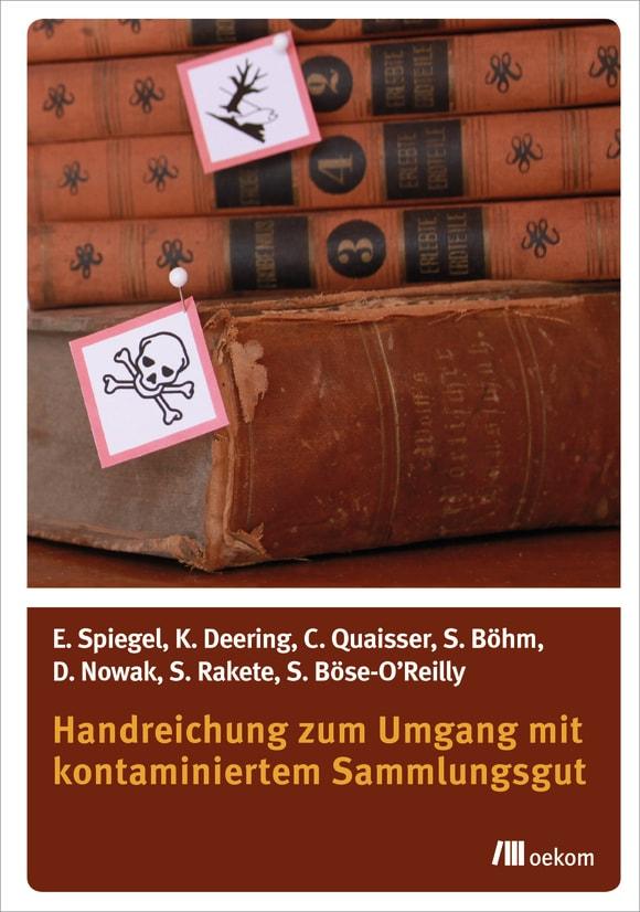 Cover: Handreichung zum Umgang mit kontaminiertem Sammlungsgut