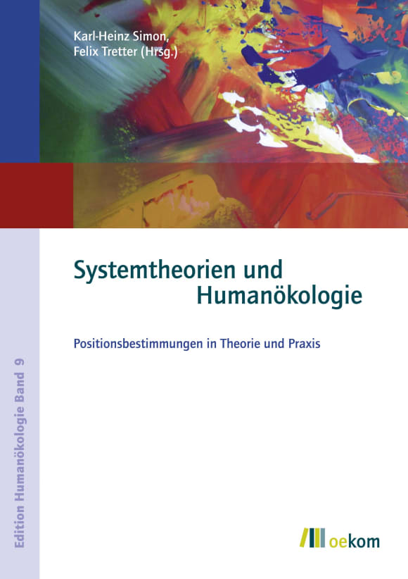 Cover: Systemtheorien und Humanökologie