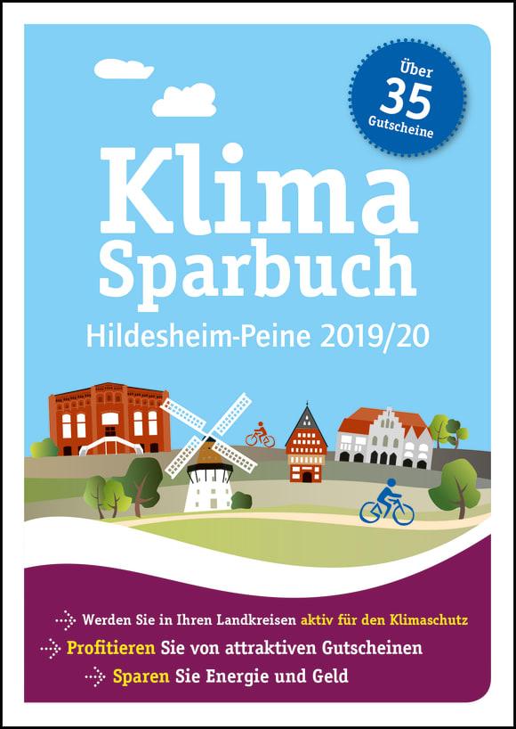 Cover: Klimasparbuch Hildesheim-Peine 2019/20