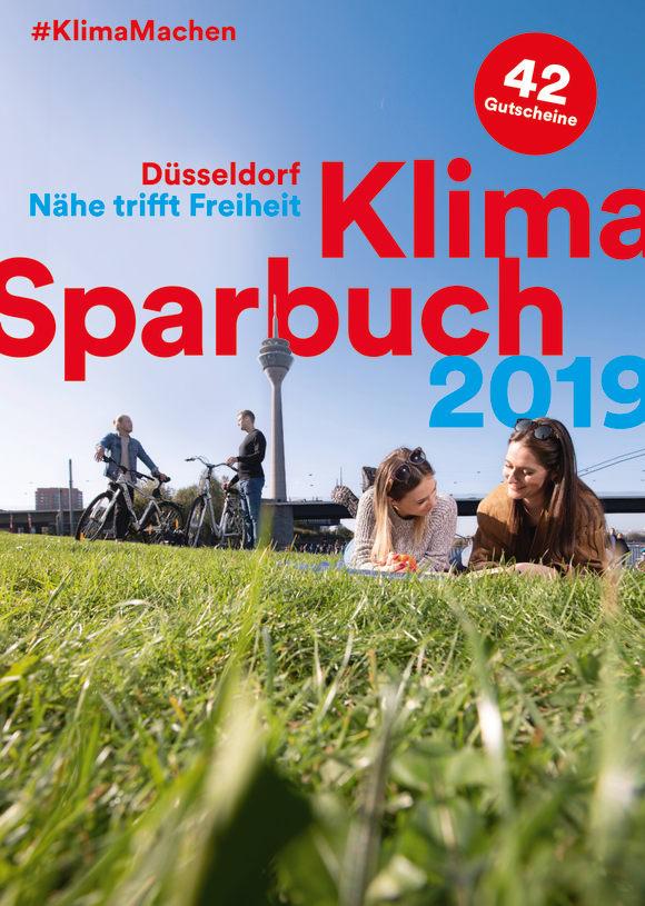 Cover: Klimasparbuch Düsseldorf 2019