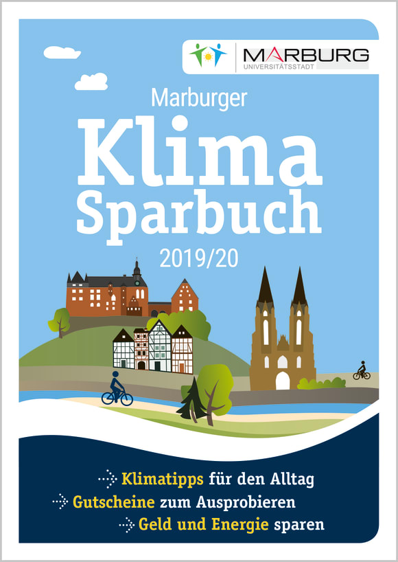 Cover: Marburger Klimasparbuch 2019/20